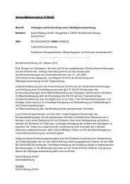 Ad-hoc-Meldung nach § 15 WpHG Betreff - Hybrid Raising GmbH