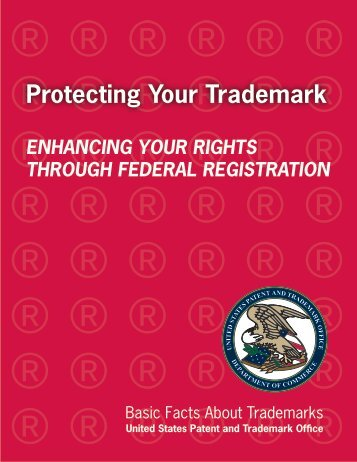 Basic Facts About Trademarks - U.S. Patent and Trademark Office