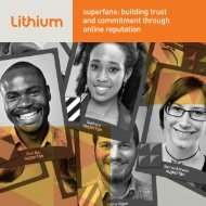 what is online community? - Lithium