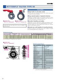 frp butterfly valves