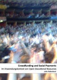 Crowdfunding und Social Payments Im Anwendungskontext ... - L3T