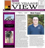 May - The Village View Community Newspaper