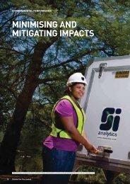MINIMISING AND MITIGATING IMPACTS - Kumba Iron Ore