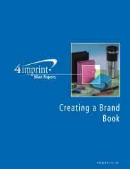 Creating a Brand Book - 4imprint Promotional Products Blog