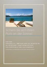 +43 4273 22 78 I fax - Hotel Linde