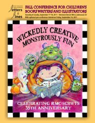 Fall Conference for Children's Books Writers and Illustrators
