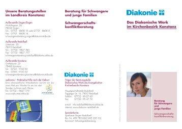 Beratung für Schwangere und junge Familien ... - Diakonisches Werk