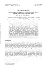 RESEARCH ARTICLE Understanding the user experience of ...
