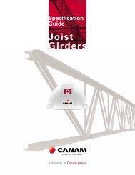 Joist Girders - Canam Canada