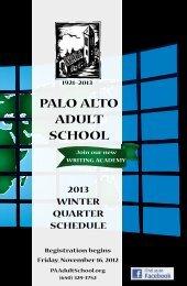 E S L - Palo Alto Adult School