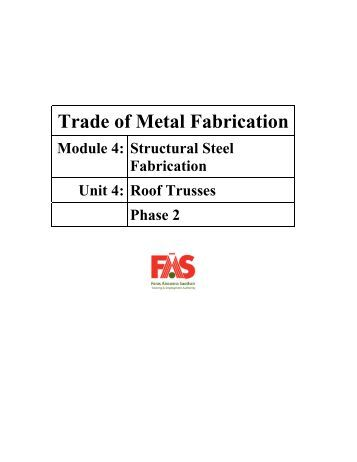Trade of Metal Fabrication - eCollege