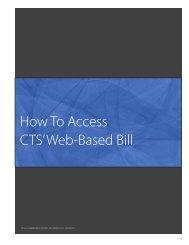 Web-Based Bill - UCLA Communications Technology Services