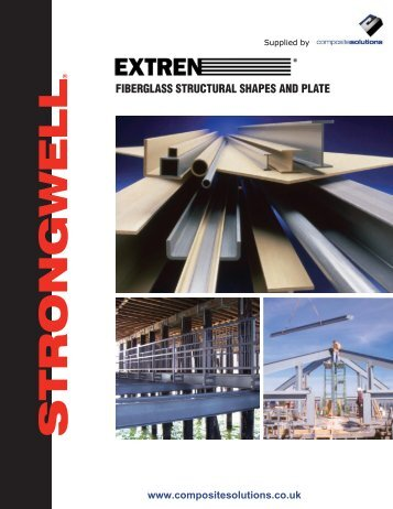 fiberglass structural shapes and plate - Composite Solutions