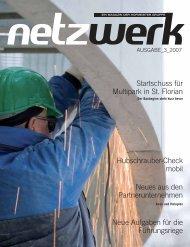 Netzwerk 2007 ⁄ 3 - Hofmeister Unternehmensgruppe