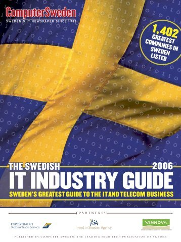 The Swedish IT Industry Guide - Vinnova