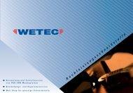 Download - WETEC | Gesellschaft für Werkzeugtechnik GmbH