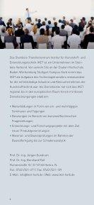Steinbeis - IKET im Überblick - Seite 3