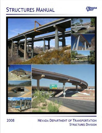 NDOT Structures Manual - Nevada Department of Transportation