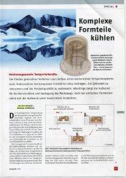 Komplexe Formteile kühlen kunststoffe - SIGMA Engineering GmbH