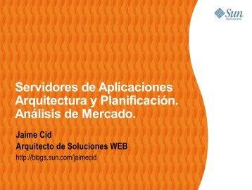 Servidores de Aplicaciones - Seminaris Empresa