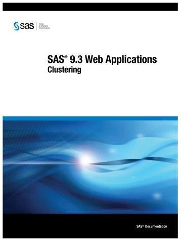 SAS 9.3 Web Applications: Clustering - Index of - SAS