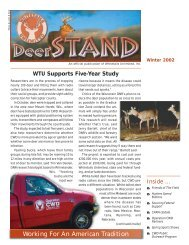 Deer stand W02 for web - Whitetails Unlimited