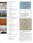 mountain inspired quilts - Machine Quilting Unlimited - Page 3
