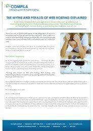 the myths and pitfalls of web hosting explained - Website Hosting