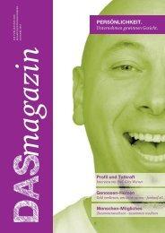 magazin DAS - DIE.Kommunikationsgenossen