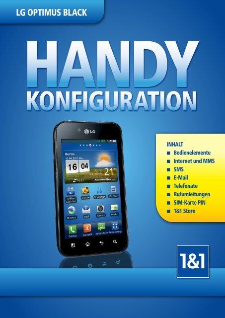 LG Optimus Black (PDF 2,0 MB) - 1&1 Hilfe Center - 1&1 Internet AG
