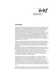 e-Learning - Checklist Weiterbildung