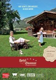 Sommer Prospekt/Preiseliste [PDF] - Hotel Gassner