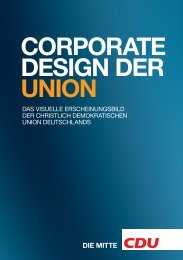 CDU, Corporate Design der Union, Juni 2010 - Design Tagebuch
