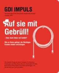 GDI IMPULS - INNOVATIVE MANAGEMENT PARTNER