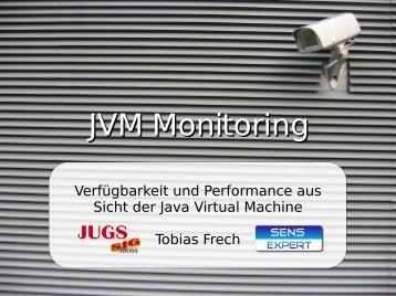 JVM Monitoring - Tobias Frech