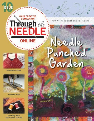 Needle Punched Garden