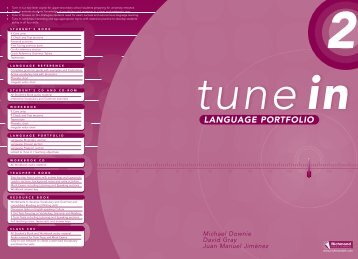 Tune in 2 - Language Portfolio - Webtunein.net