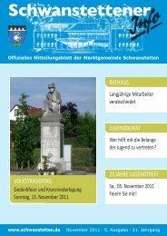 Schwanstettener - Gemeinde Schwanstetten