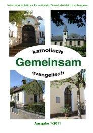 Gemeindeleben Kath. Pfarrgemeinde - Evangelische ...