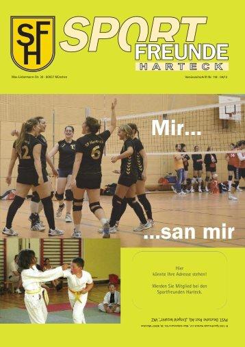 Ausgabe Nr. 118 - November 2012 - Sportfreunde Harteck eV