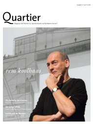 rem koolhaas - Quartier