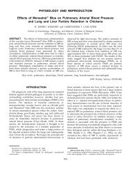 PHYSIOLOGY AND REPRODUCTION Effects of Monastral Blue on ...
