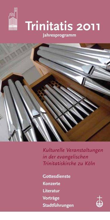 Trinitatis 2011 - Trinitatiskirche