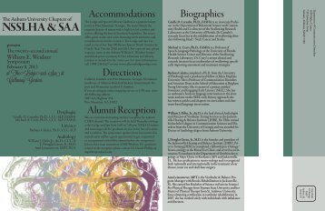 Please view a printable brochure - Auburn University