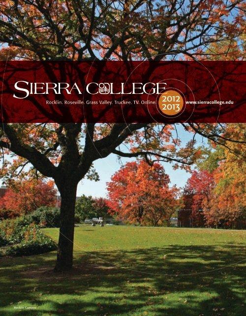 12-13 catalog web - Sierra College