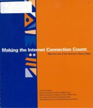Effective Use of the Internet in Seven Steps - (PDF, 101 mb) - USAID