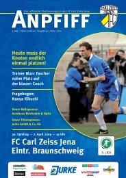 FC Carl Zeiss Jena Eintr. Braunschweig