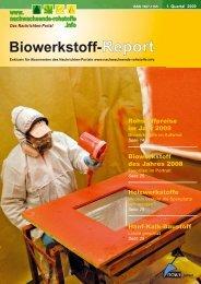 Biowerkstoff-Report, Ausgabe 5, Februar 2009 - nova-Institut GmbH
