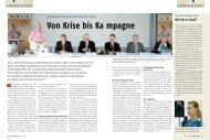 Von Krise bis Ka mpagne - Nord-Handwerk