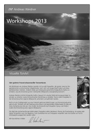 Workshops 2013 - Andreas Weidner